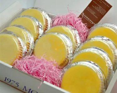 メディアでも紹介され注文殺到!とろーり美味しい観音屋デンマークチーズケーキ